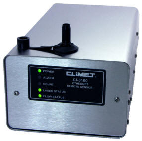 Climet CI-3100 OPT Real Time Monitoring