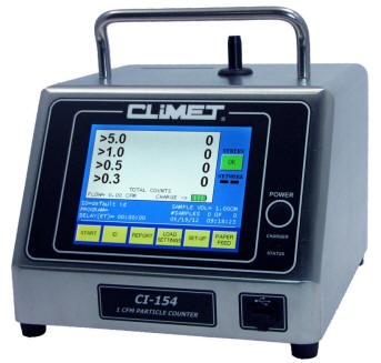 Climet CI-x5x Portable Particle Counter